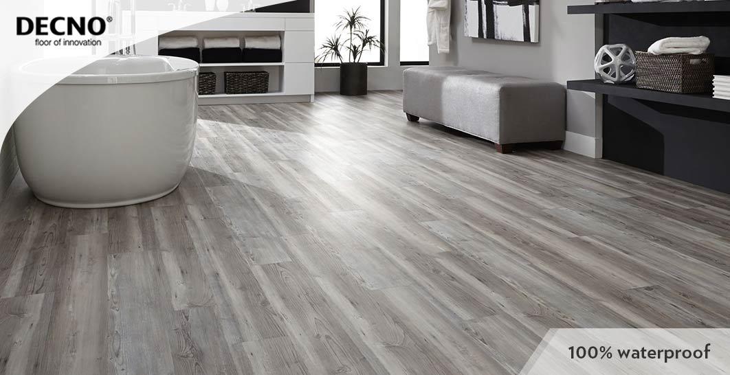 With XPE Core SPC Plastic Flooring