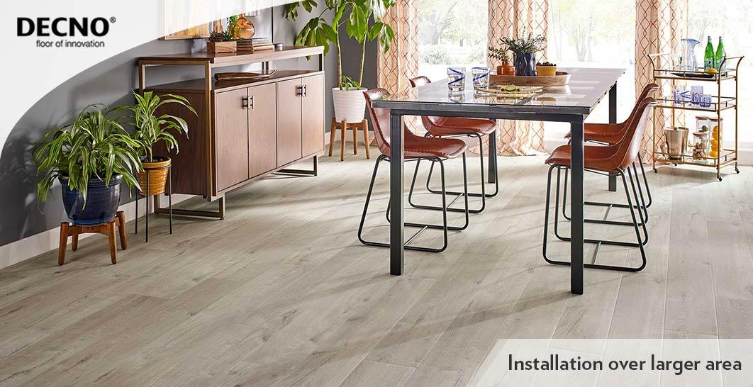 5.5mmWPC Flooring Wood Plastic Click Floor