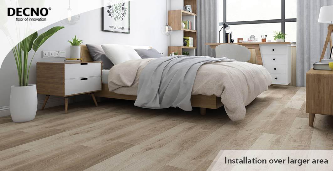 8.5mm Wood Plastic Core Flooring