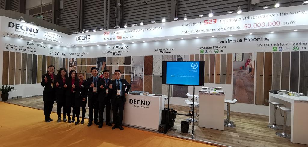 China SPC flooring manufacture--DOMOTEX ASIA