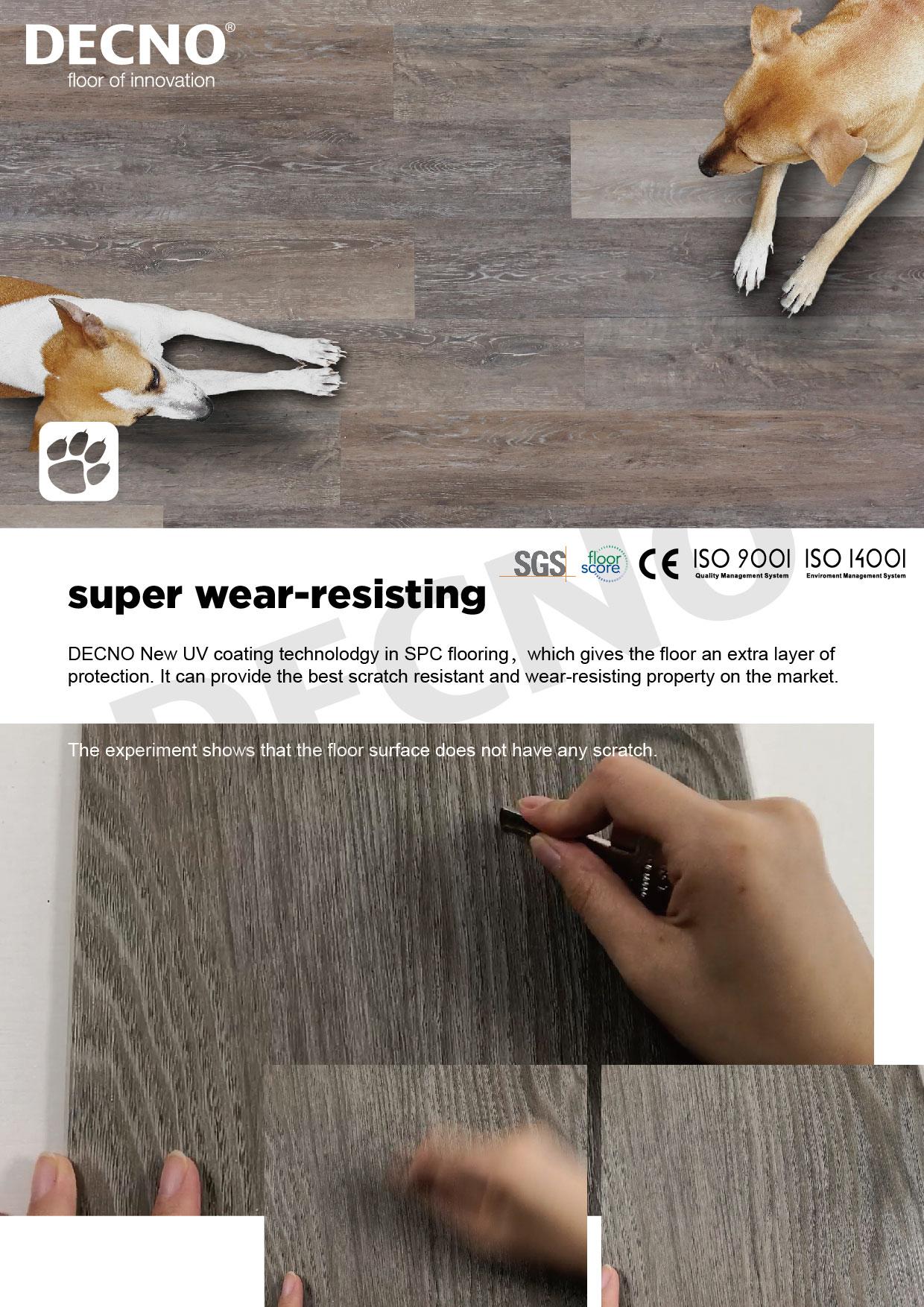 Super Anti-Scratch SPC flooring